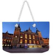 Amsterdam Central Station Weekender Tote Bag