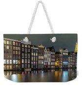 Amsterdam City Lights Weekender Tote Bag