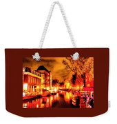 Amsterdam Night Life L A S Weekender Tote Bag