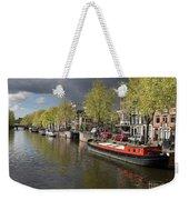 Amsterdam Prinsengracht Canal Weekender Tote Bag