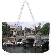 Amsterdam Scene Weekender Tote Bag