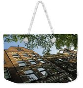 Amsterdam Spring - Fancy Brickwork Glow - Left Horizontal Weekender Tote Bag