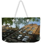 Amsterdam Spring - Fancy Brickwork Glow - Right Horizontal Weekender Tote Bag
