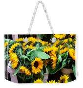 Amsterdam Sunflowers Weekender Tote Bag