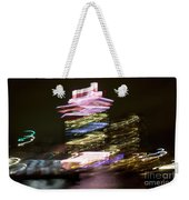 Amsterdam The Netherlands A'dam Tower Abstract At Night. Weekender Tote Bag