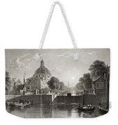 Amsterdam, View On The Singel. From The Weekender Tote Bag