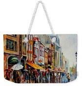 Amsterdam's Rain Weekender Tote Bag