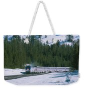 Amtrak 112 1 Weekender Tote Bag by Jim Thompson