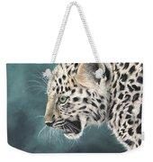 Amur Leopard Cub Weekender Tote Bag