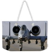 An A-10 Thunderbolt II Weekender Tote Bag