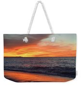 An Absolute Fire In The Sky Weekender Tote Bag