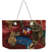 An Abstracted Life Once Lived Weekender Tote Bag