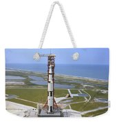 An Aerial View Of The Apollo 15 Weekender Tote Bag