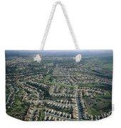 An Aerial View Of Urban Sprawl Weekender Tote Bag