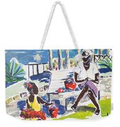 An Afternoon With Her... Weekender Tote Bag