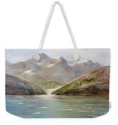 An Alaskan View Weekender Tote Bag