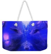 An Alien Visage  Weekender Tote Bag