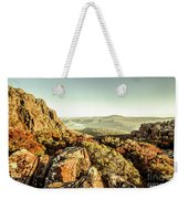 An Alpine Morning Weekender Tote Bag