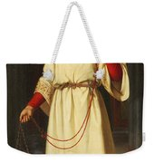 An Altar Boy Weekender Tote Bag by Abraham Solomon