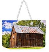 An American Barn 2 Painted Weekender Tote Bag