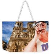 An American In Paris Notre Dame Weekender Tote Bag