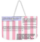 An American Traditition Weekender Tote Bag