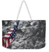 An American Winter Weekender Tote Bag