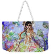 An Angel For All Of The Chakras And Her Name Is Simplicity Weekender Tote Bag