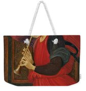 An Angel Playing A Flageolet Weekender Tote Bag