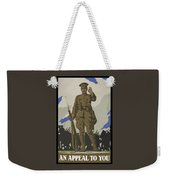 An Appeal To You Weekender Tote Bag