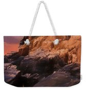 An Art Photograph Of  Bass Harbor Lighthouse,acadia Nat. Park Ma Weekender Tote Bag