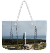 An Atlas V-551 Launch Vehicle At Cape Weekender Tote Bag