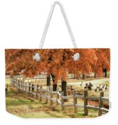 An Autumn Day At The Park Weekender Tote Bag
