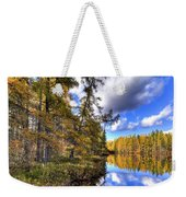 An Autumn Day At Woodcraft Camp Weekender Tote Bag