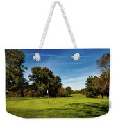 An Autumn Golf Day Weekender Tote Bag