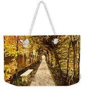 An Autumn Path Weekender Tote Bag