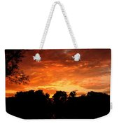 An Awesome Sunset  Weekender Tote Bag