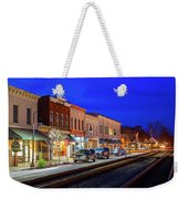 An Early Evening In Ashland Weekender Tote Bag