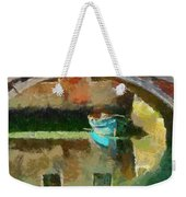 An Early Morning In Venice Weekender Tote Bag