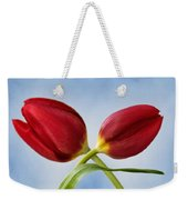 An Embrace Of Tulips Weekender Tote Bag