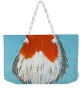 An English Robin Weekender Tote Bag