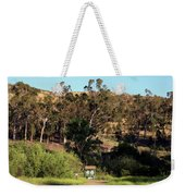 An Entrance To Peters Canyon Weekender Tote Bag