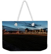 An Evening At The Train Station Weekender Tote Bag