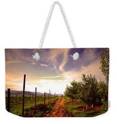 An Evening By The Orchard Weekender Tote Bag