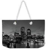 An Evening In Boston Weekender Tote Bag