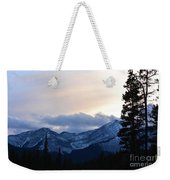 An Evening In The Mountains Weekender Tote Bag