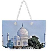 An Extraordinary View - The Taj Mahal Weekender Tote Bag