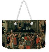 An Eyewitness Representation Of The Execution Of King Charles I Weekender Tote Bag