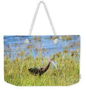An Ibis In The Grass Weekender Tote Bag