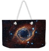 A Look In Infrared At The Helix Nebula Weekender Tote Bag